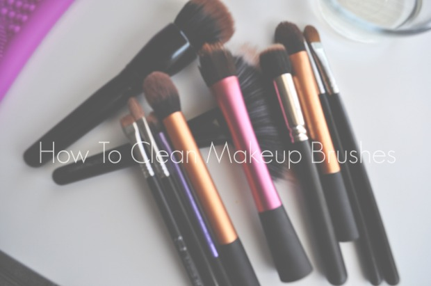 How To| Clean Makeup Brushes