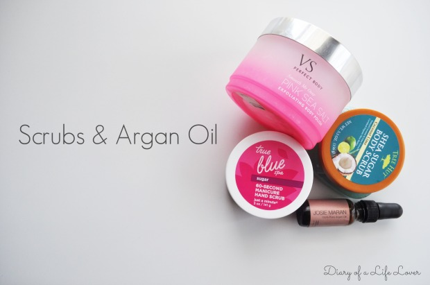 Skincare | Scrubs and Argan Oil